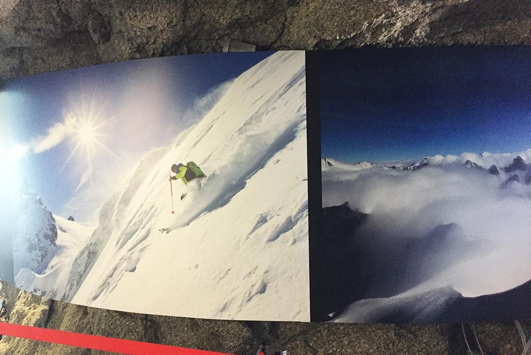Signalétique Compagnie Mont Blanc