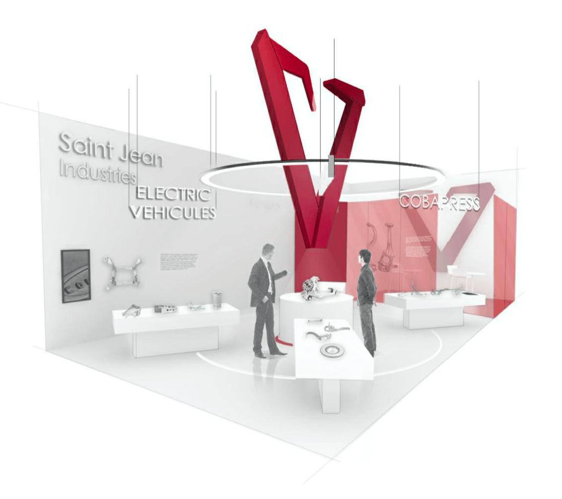 Saint-Jean Industries stand
